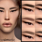 Моды брови для женщин Симс 4
