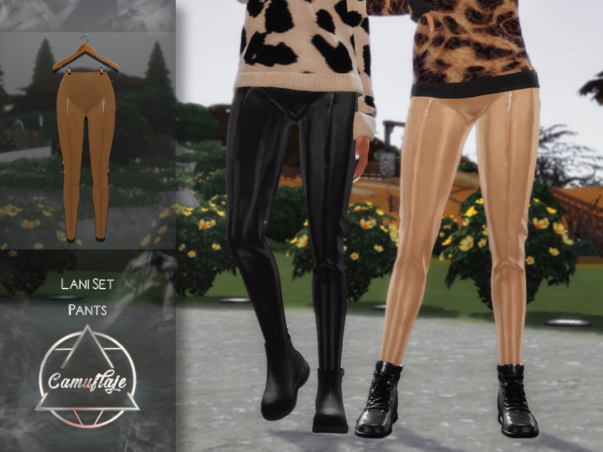 Моды женские брюки Симс 4