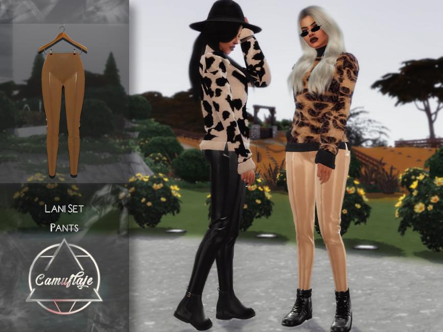 Моды женские брюки Симс 4 (картинка 2)