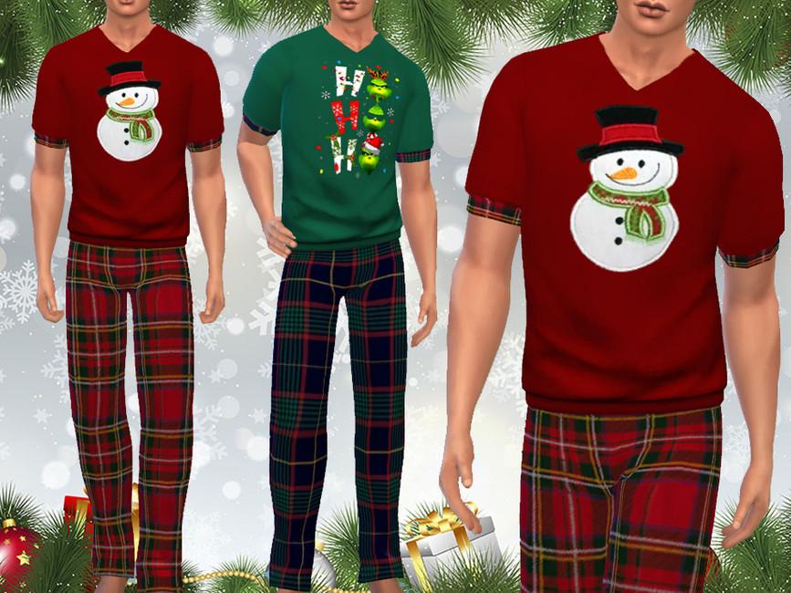 Мужская пижама Симс 4