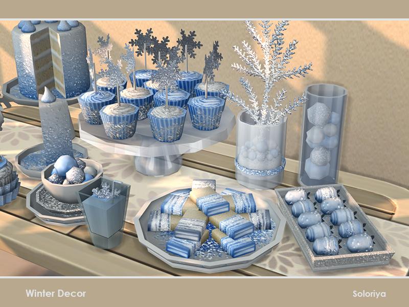 Новогодний декор Симс 4 (картинка 2)