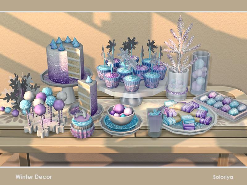 Новогодний декор Симс 4 (картинка 4)