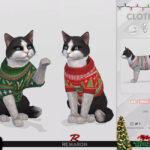 Одежда для кошек для Симс 4