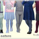 Одежда колготки Симс 4