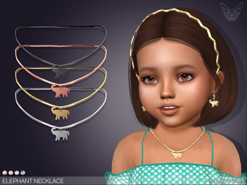 Ожерелье для детей Симс 4