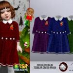 Платье для тоддлеров Симс 4
