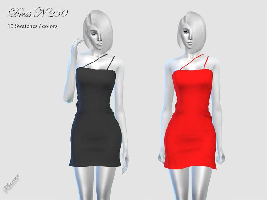 Платье DRESS N250 Симс 4