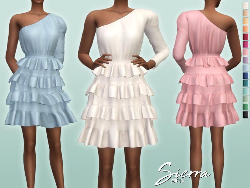Платье Sierra Dress Симс 4