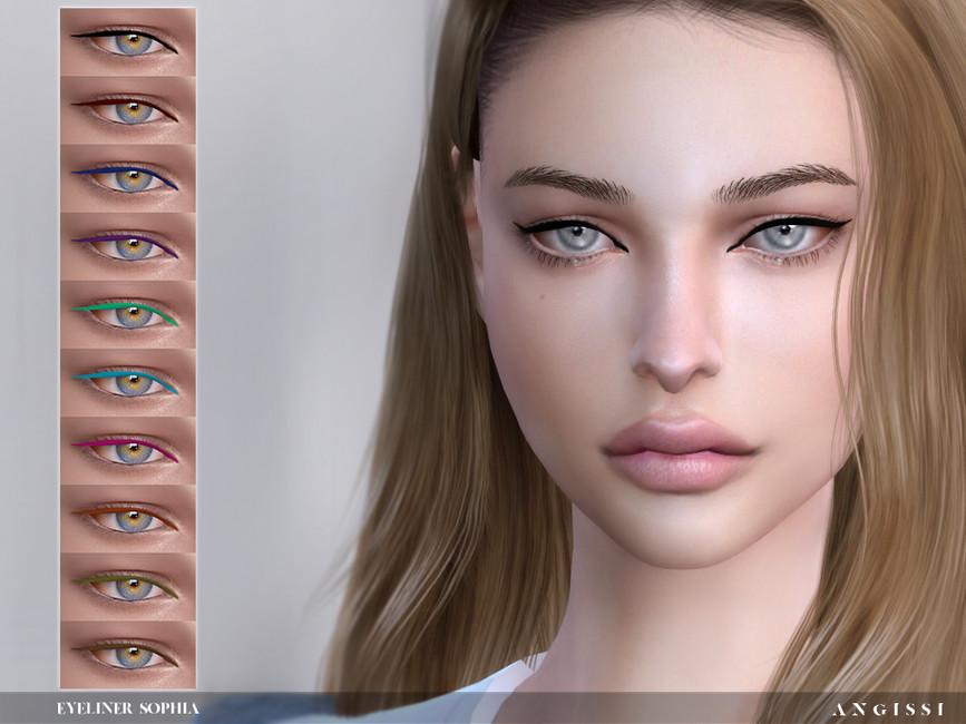 Подводка для глаз Eyeliner - Sophia Симс 4