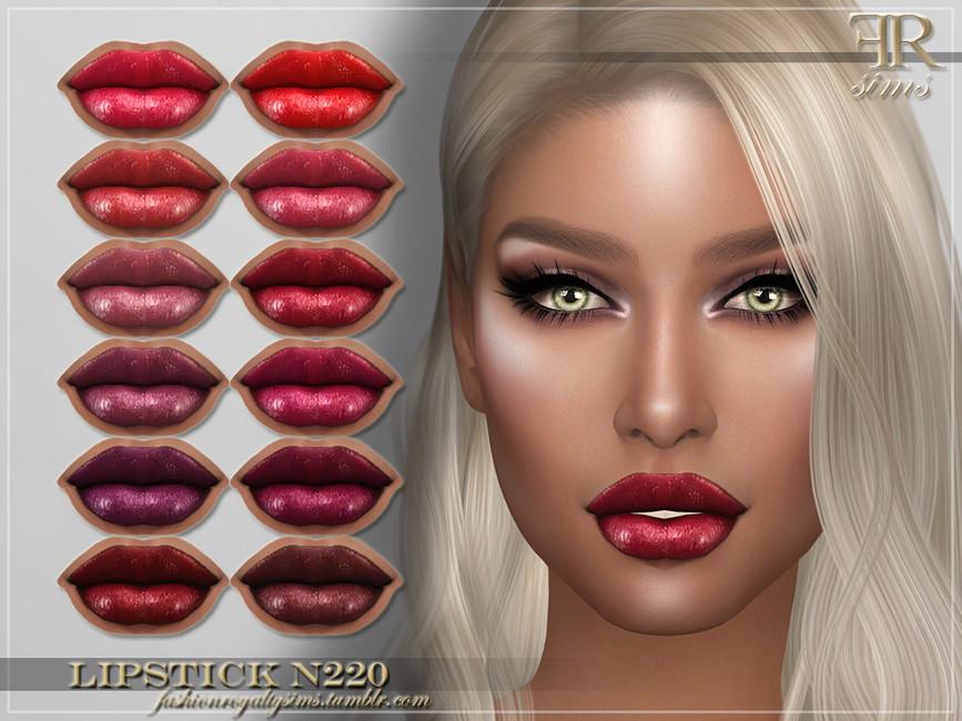 Помада для губ FRS Lipstick N220 Симс 4