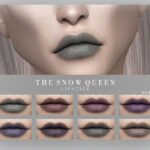 Помада для губ Snow Queen Lipstick Симс 4