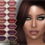 Помада FRS Lipstick N219 Симс 4