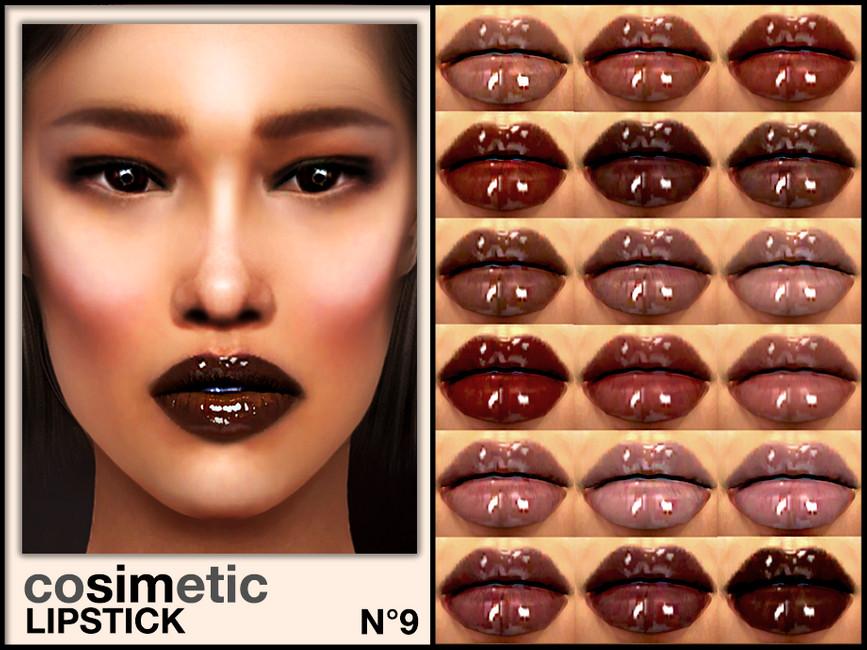 Помада Lipstick N9 Симс 4