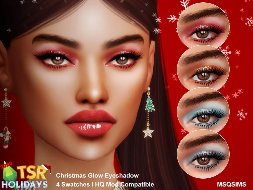 Рождественские тени Симс 4