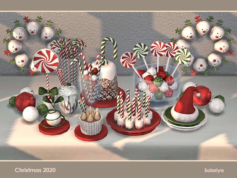 Рождество Симс 4