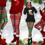 Сапоги Female XMas Boots Симс 4
