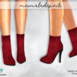 Сапоги на каблуках Симс 4