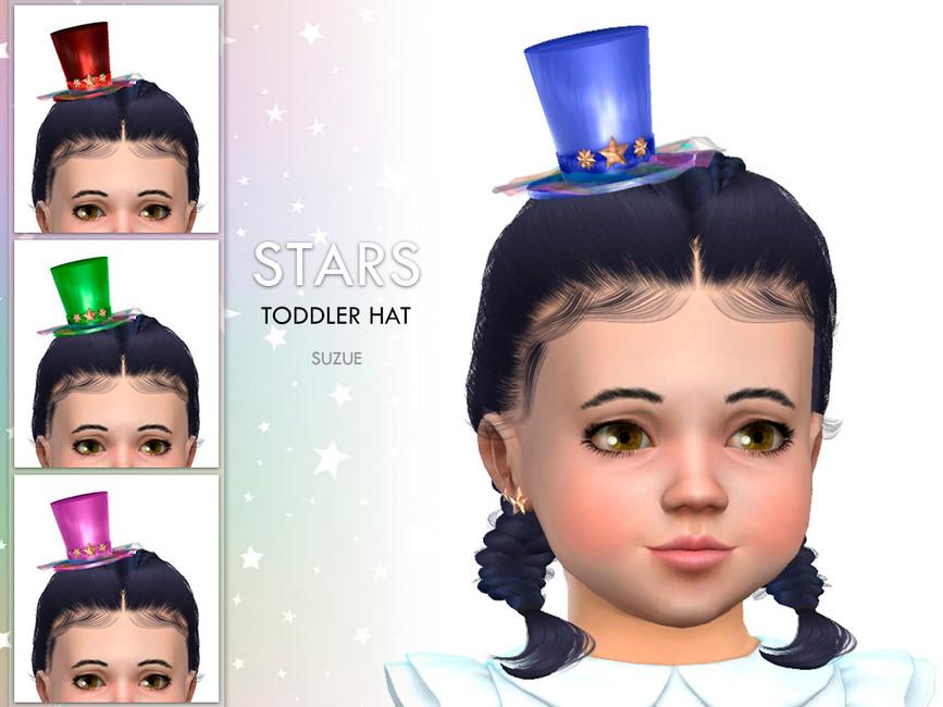 Шляпа для детей Симс 4