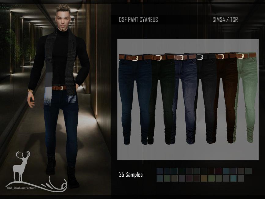 Скачать джинсы Симс 4
