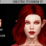 Тени Christmas Eyeshadow V1 Симс 4