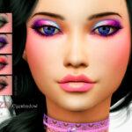Тени для век Eden Eyeshadow Симс 4