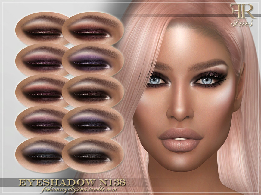 Тени для век Eyeshadow N138 Симс 4
