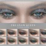 Тени для век Snow Queen Eyeshadow Симс 4