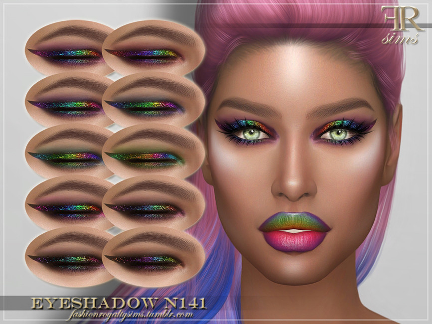 Тени FRS Eyeshadow N141 Симс 4