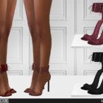 Туфли на высоком каблуке Симс 4