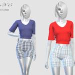Женская блузка Симс 4