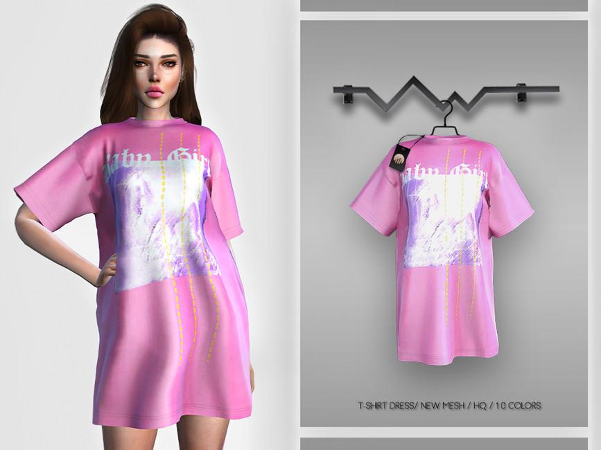 Женская футболка для Симс 4