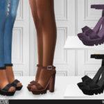 Женская обувь для Симс 4