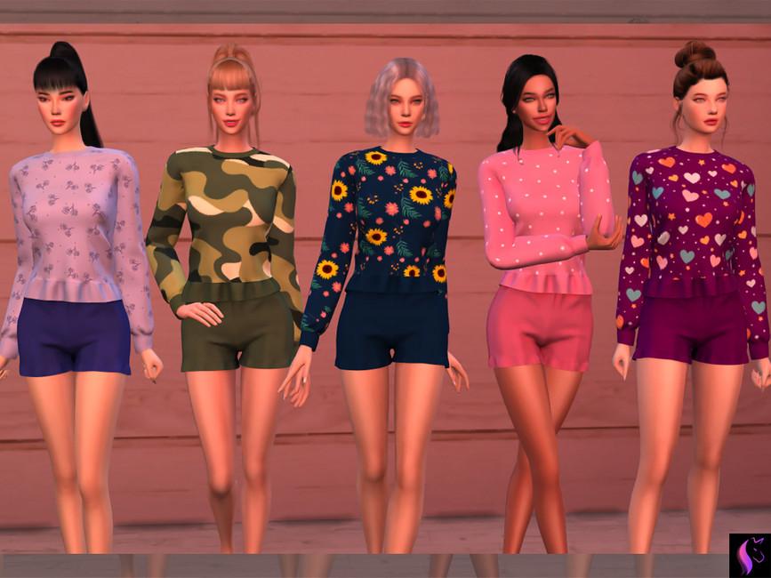 Женская пижама Симс 4 (картинка 2)