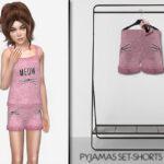 Женские шорты для Симс 4