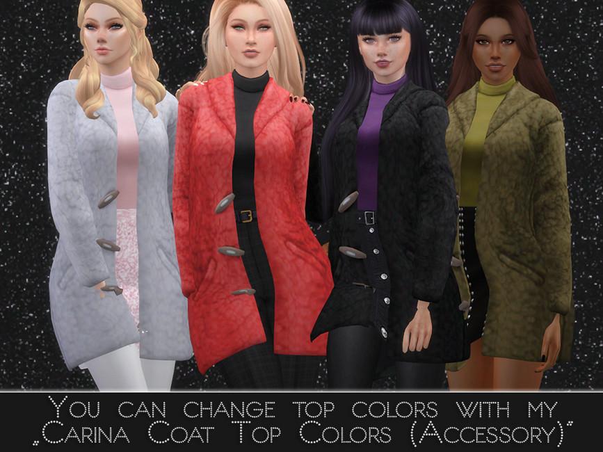 Женское пальто Симс 4 (картинка 2)