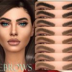 Брови Eyebrows N57 для Симс 4
