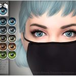 Глаза Natural Eye Colors 11 для Симс 4