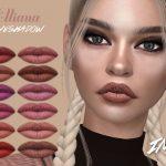 Матовая помада Elliana Lipstick N316 Симс 4