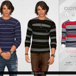 Моды мужские рубашки Симс 4