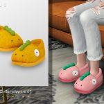 Моды тапочки Симс 4