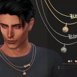 Мужское ожерелье King Necklace Симс 4