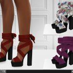 Обувь 609 - High Heels Симс 4