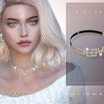 Ожерелье ts4 LL Necklace 202102 Симс 4