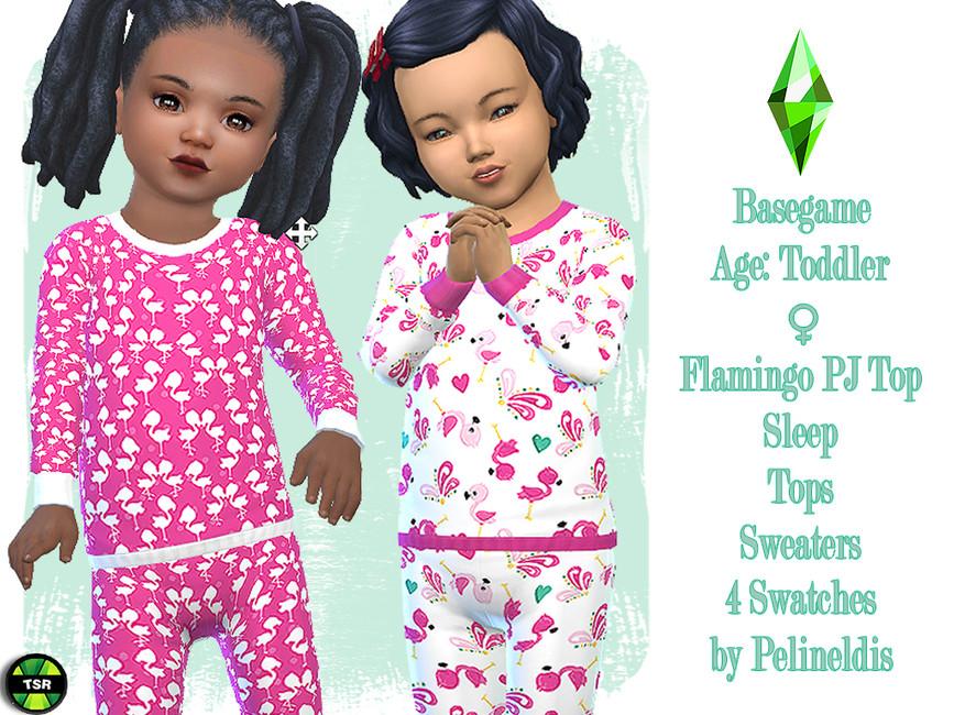 Пижама для детей Симс 4