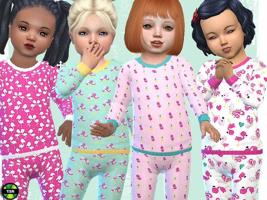 Пижама для детей Симс 4 (картинка 2)