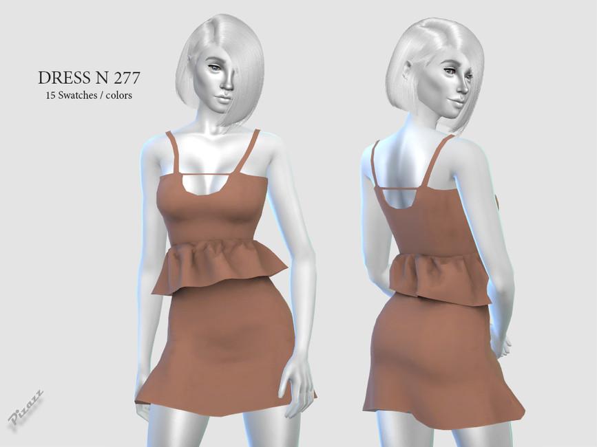 Платье DRESS N277 Симс 4