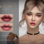 Помада для губ WM ts4 Lipstick 202101 Симс 4