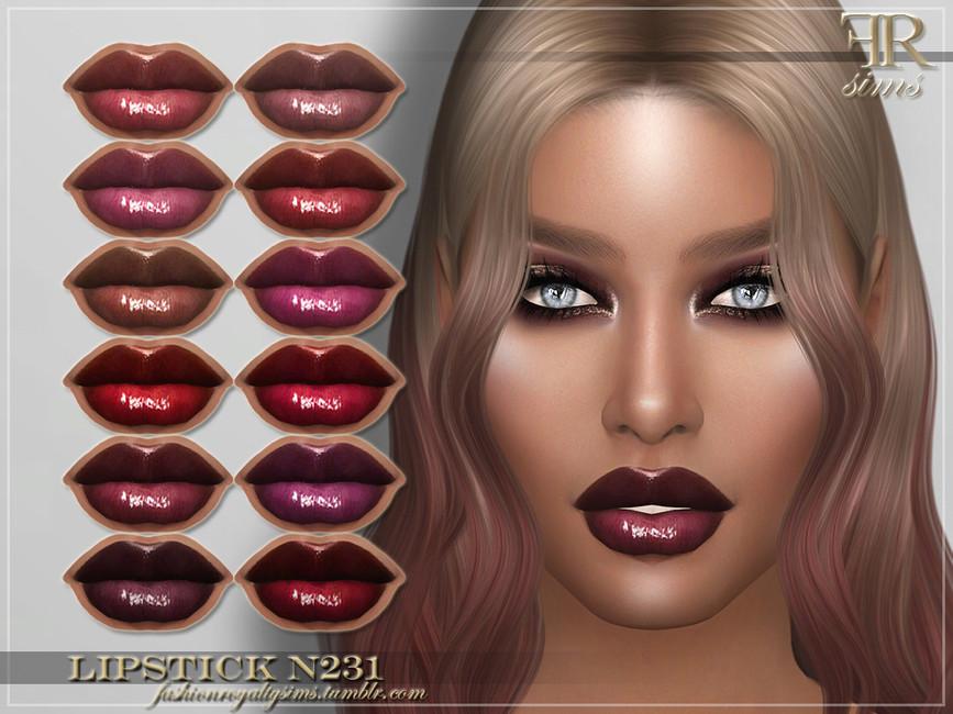 Помада FRS Lipstick N231 Симс 4