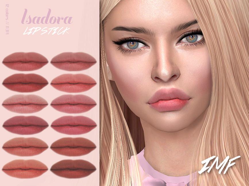 Помада IMF Isadora Lipstick N317 Симс 4