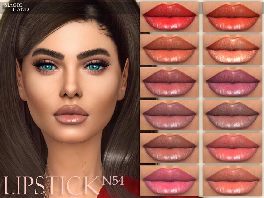 Помада Lipstick N54 Симс 4